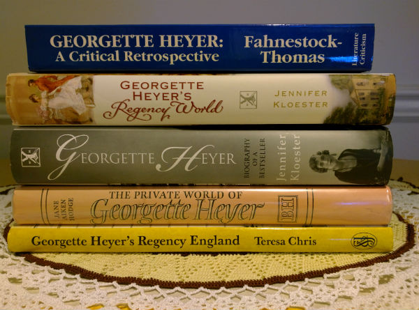 Georgette Heyer Reference Books
