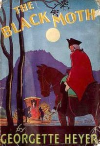 The Black Moth by Georgette Heyer First Edition Cover
