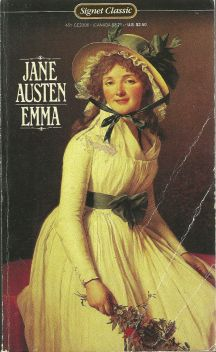I have a soft spot for this cover, as this was my first Austen, purchased for $2 from a drugstore book rack.